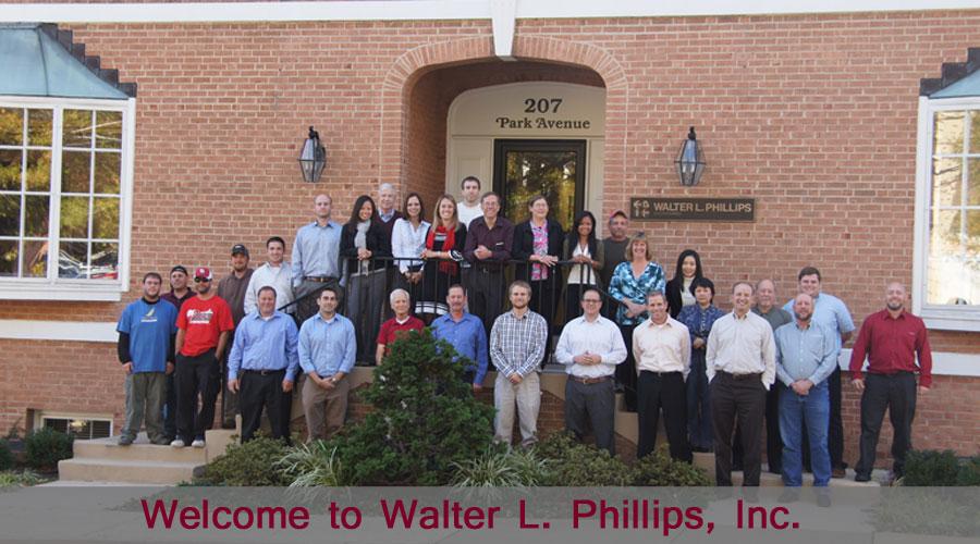 Walter L. Phillips, Inc. civil engineers, land surveyors, land planners, landscape architects, arborists